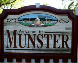 Munster IN sign