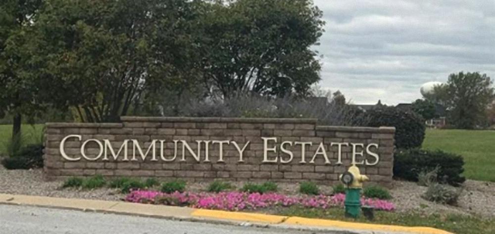 Community Estates of Munster Sign